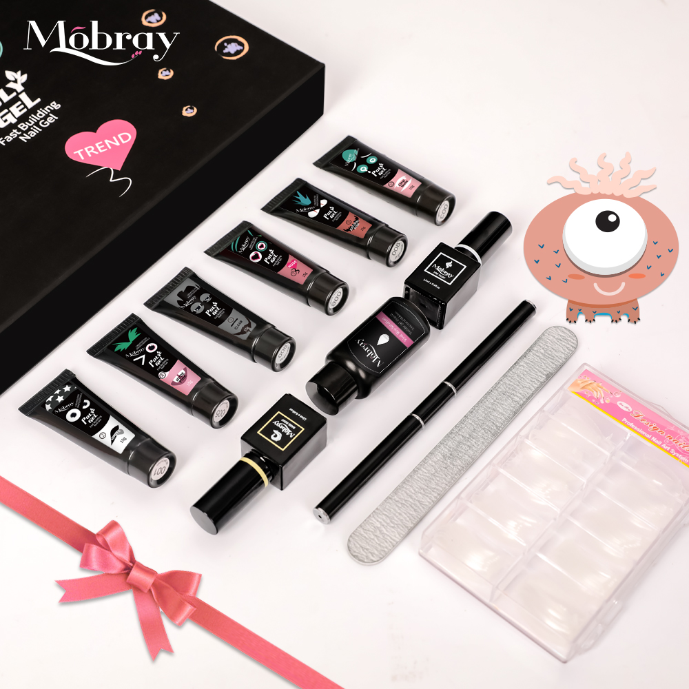 Private Label Mobray 6 Different Colors 15 g Nail Paint